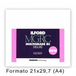 ILFORD MG RC DELUXE 21x29,7/100 1M Lucida
