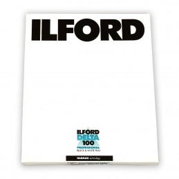 """ILFORD DELTA 100 PELL. PIANA 8""""x10"""" - 25 fogli"""