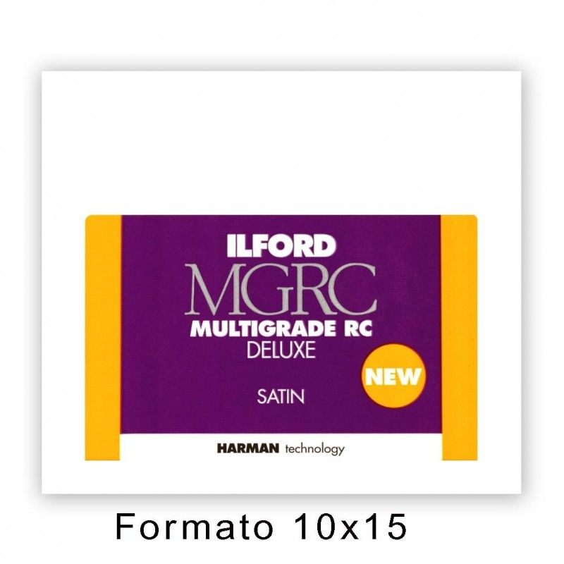 ILFORD MG RC DELUXE 10,5x14,8/100 25M Satinata