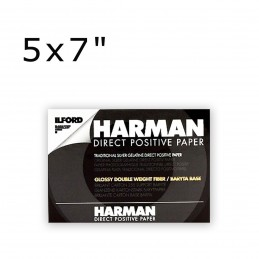 HARMAN DIRECT POSITIVE FB 12,5x17,64 cm 25 fogli 1K Lucida