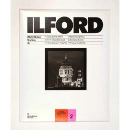 ILFOSPEED 30,5x40,6 10 fogli - gradazione 2 superficie 1M lucida - Prodotto da stock non sostituibile o rimborsabile