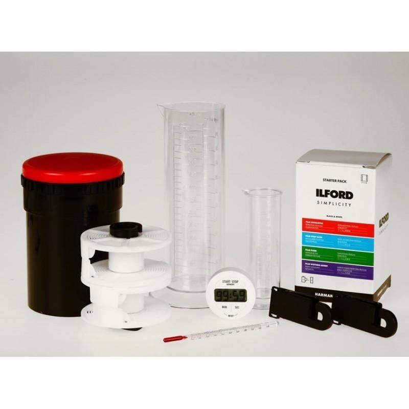 Kit Sviluppo Pellicole con chimici Ilford