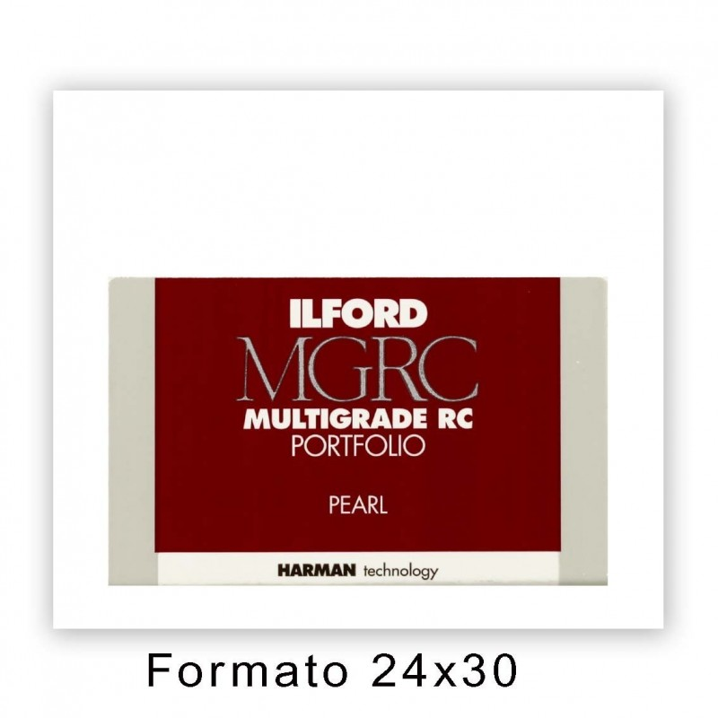 ILFORD MG IV RC PORTFOLIO 24x30,5/50 44K Perla