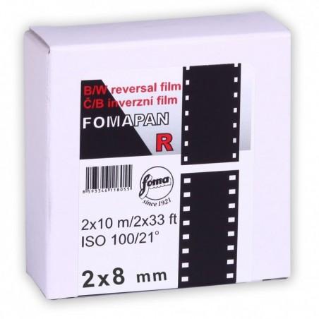 FOMAPAN R 100 2x8 mm - bobina da 10m