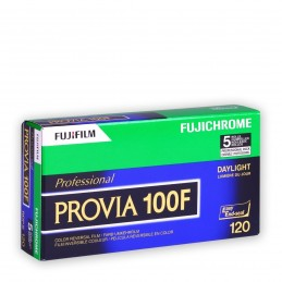 FUJI PROVIA 100 F 120 Conf. da 5 rulli