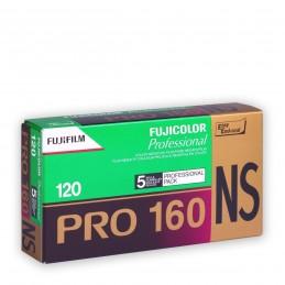 FUJI PRO 160 NS 120 Conf. da 5 rulli