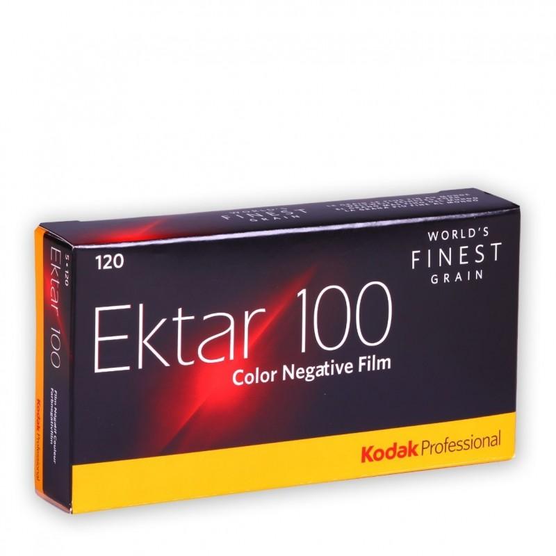 KODAK EKTAR 100 formato 120 - Conf. 5 rulli