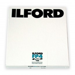 "ILFORD FP4 PLUS PELL. PIANA 8""x10"" - 25 fogli"