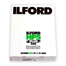 "ILFORD HP5 PLUS PELL. PIANA 4""x5"" - 100 fogli"