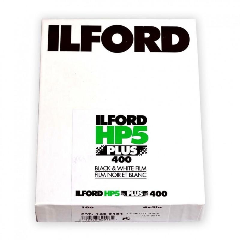 """ILFORD HP5 PLUS PELL. PIANA 4""""x5"""" - 100 fogli"""