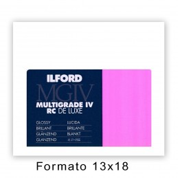 ILFORD MG IV RC 12,7X17,8/25 1M Lucida