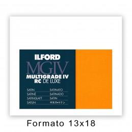 ILFORD MG IV RC 12,7X17,8/25 25M Satinata