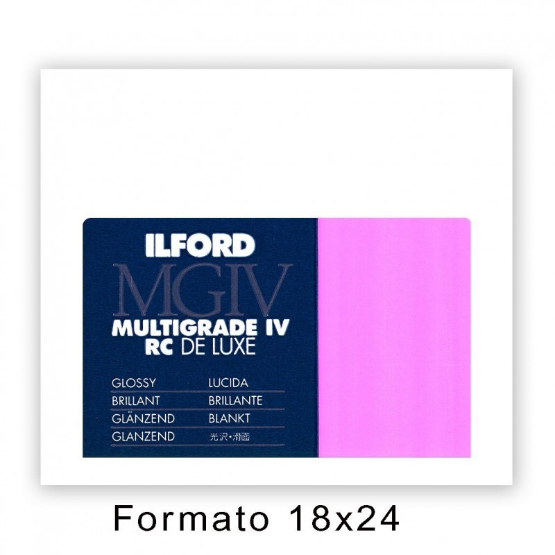 ILFORD MG IV RC 17,8x24/25 1M Lucida