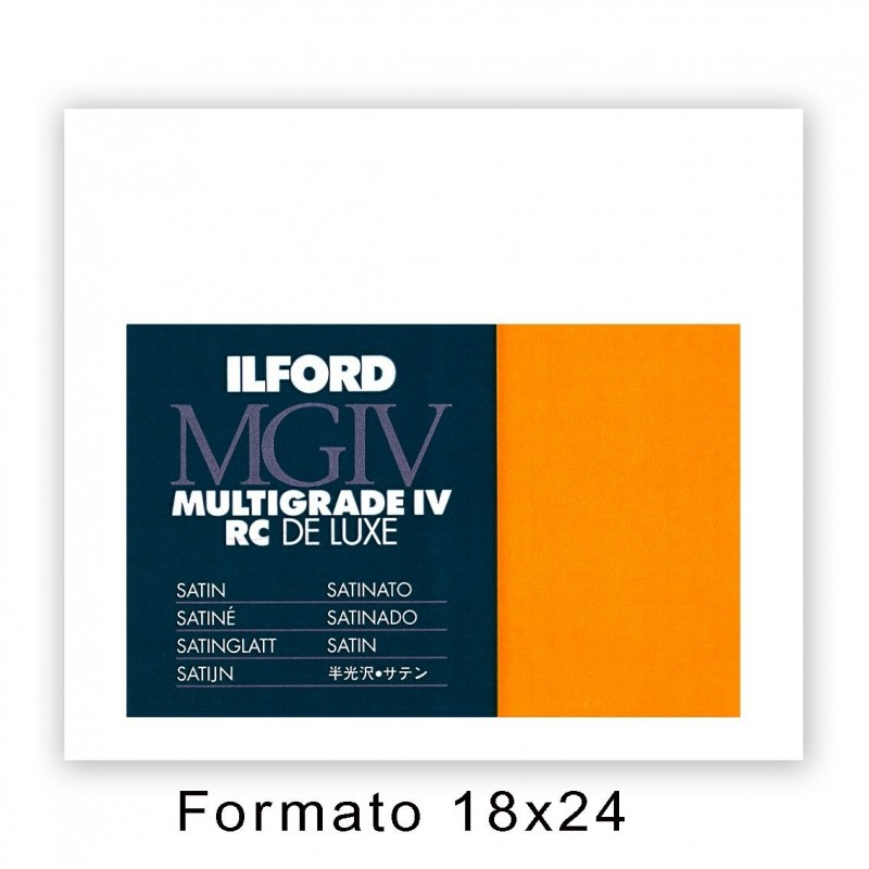 ILFORD MG IV RC 17,8x24/100 25M Satinata