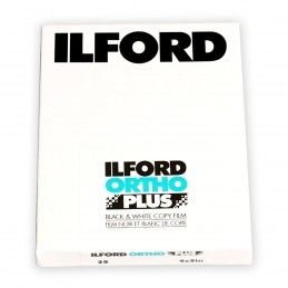 "ILFORD ORTHO PLUS PELL. PIANA 4x5"" - 25 fogli"