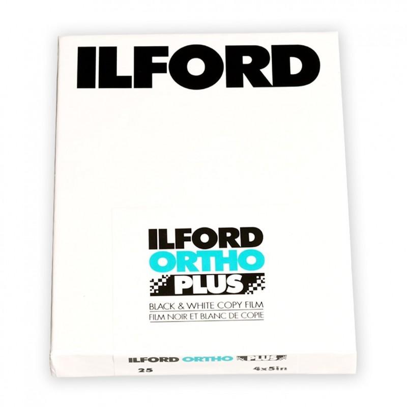 "ILFORD ORTHO PLUS PELL. PIANA 4x5"" - 25 fogli"