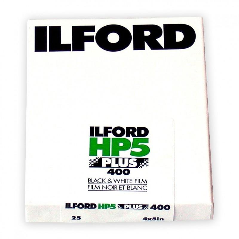 """ILFORD HP5 PLUS PELL. PIANA 4""""x5"""" - 25 fogli"""