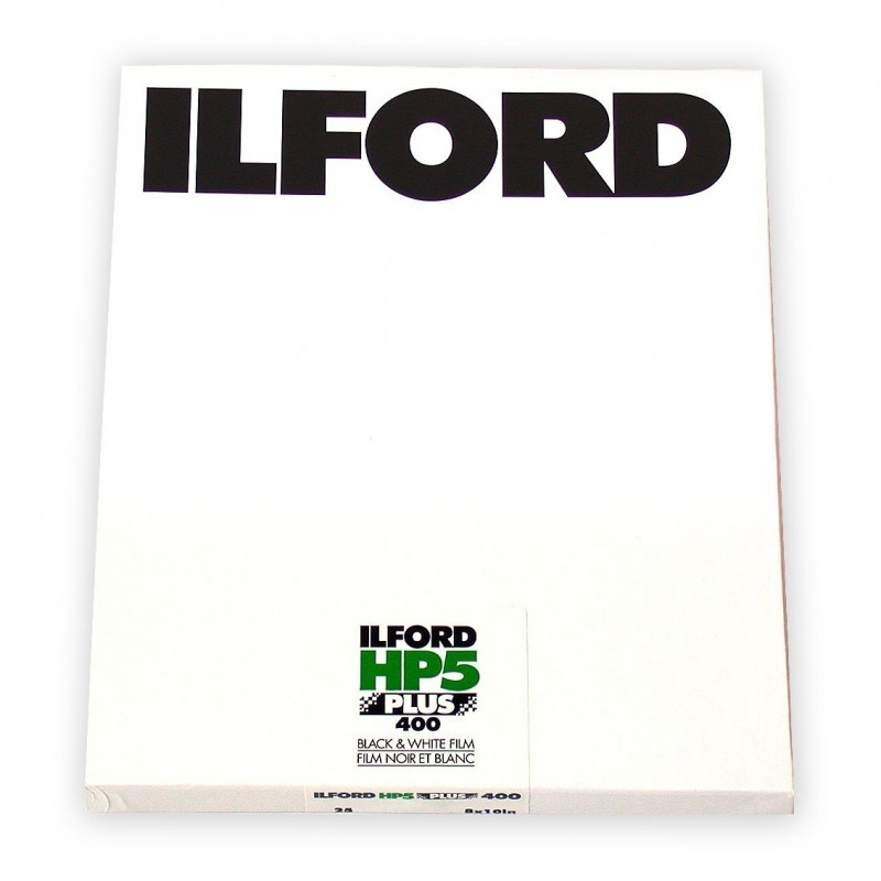 "ILFORD HP5 PLUS PELL. PIANA 8""x10"" - 25 fogli"