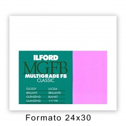 ILFORD MG FB CLASSIC 24x30,5/10 1K Lucida