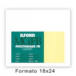 ILFORD MG FB CLASSIC 17,8x24/100 5K Opaca