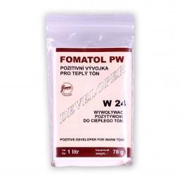 FOMA - FOMATOL PW Svil. alla glicina per carte. Per fare 1 Litro