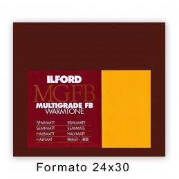 ILFORD MG FB WARMTONE 24x30,5/10 24K Satinata