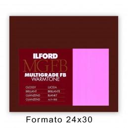 ILFORD MG FB WARMTONE 24x30,5/50 1K Lucida