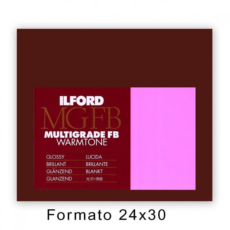 ILFORD MG FB WARMTONE 24x30,5/10 1K Lucida