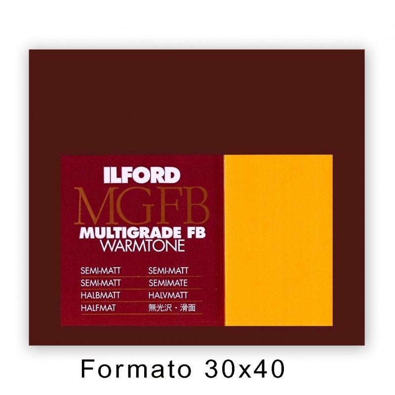 ILFORD MG FB WARMTONE 30,5x40,6/10 24K Satinata