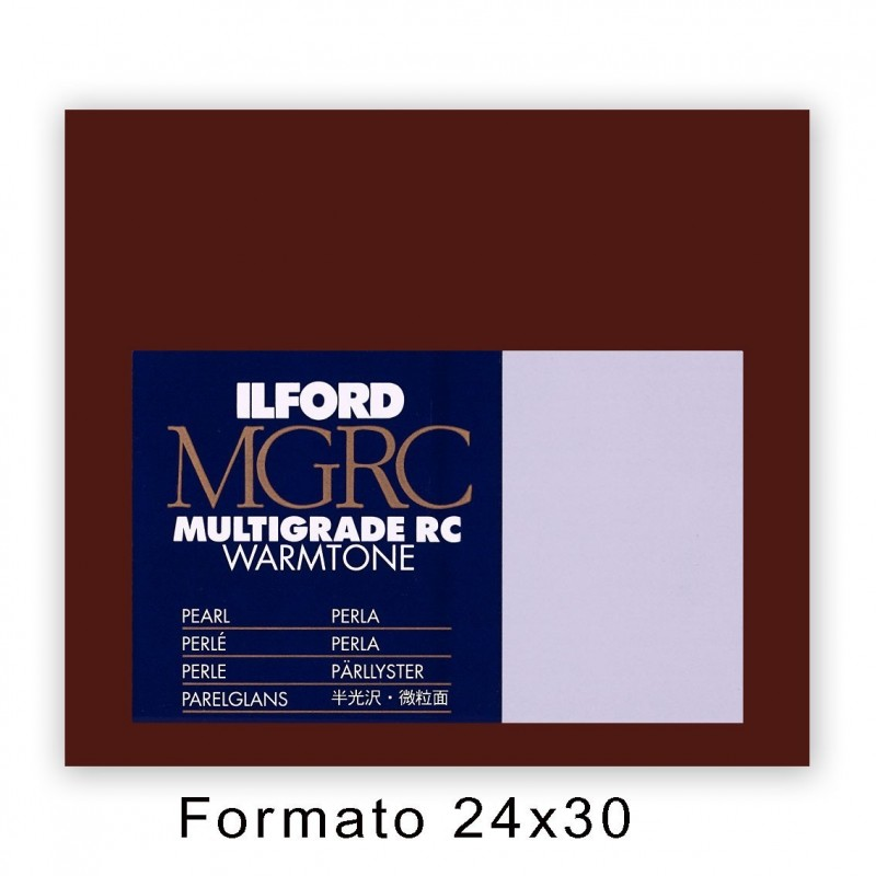 ILFORD MG RC WARMTONE 24x30,5/50 44M Perla