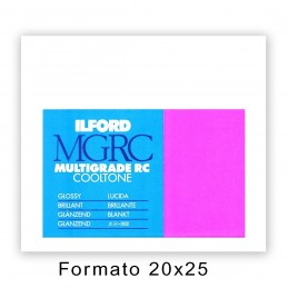 ILFORD MG RC COOLTONE 20,3x25,4/25 1M Lucida