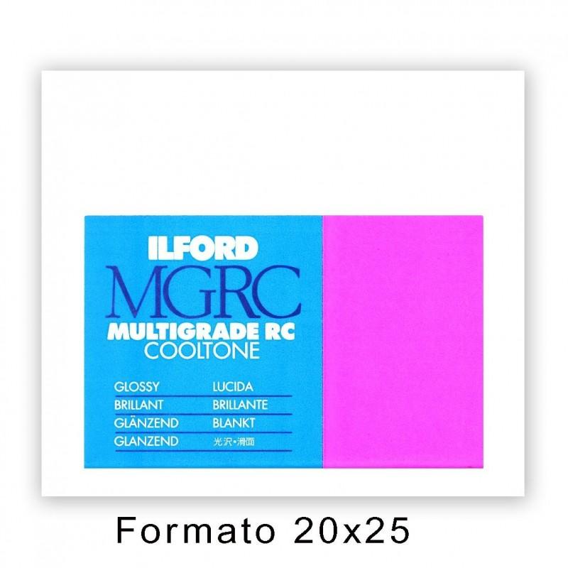 ILFORD MG RC COOLTONE 20,3x25,4/25 1M Lucida