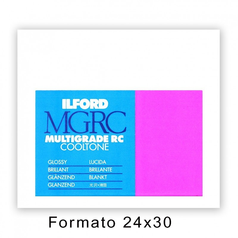ILFORD MG RC COOLTONE 24x30,5/50 1M Lucida