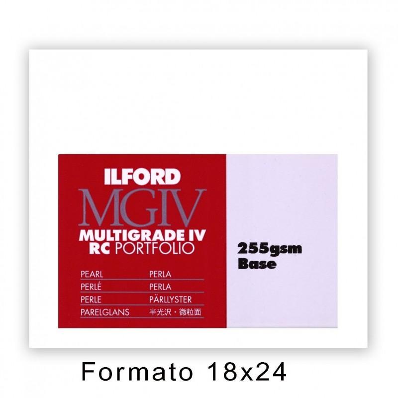 ILFORD MG IV RC PORTFOLIO 17,8x24/100 44K Perla