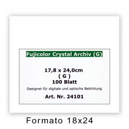 FUJI CRYSTAL ARCHIVE 17,8x24/100 F - Superficie lucida