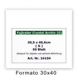 FUJI CRYSTAL ARCHIVE 30,5x40,6/50 F - Superficie lucida