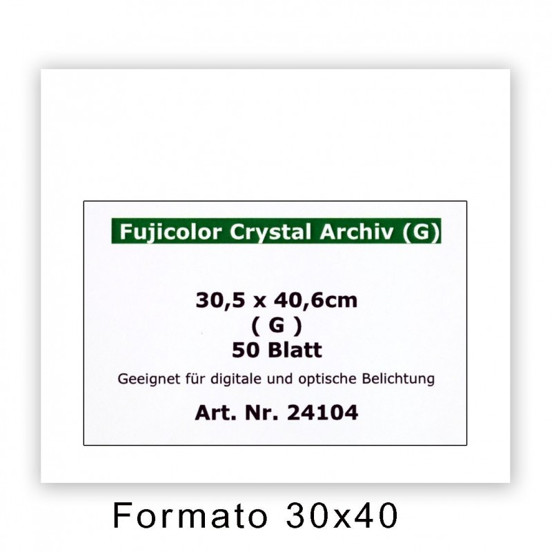 FUJI CRYSTAL ARCHIVE 30,5x40,6/50 F - Superficie lucida