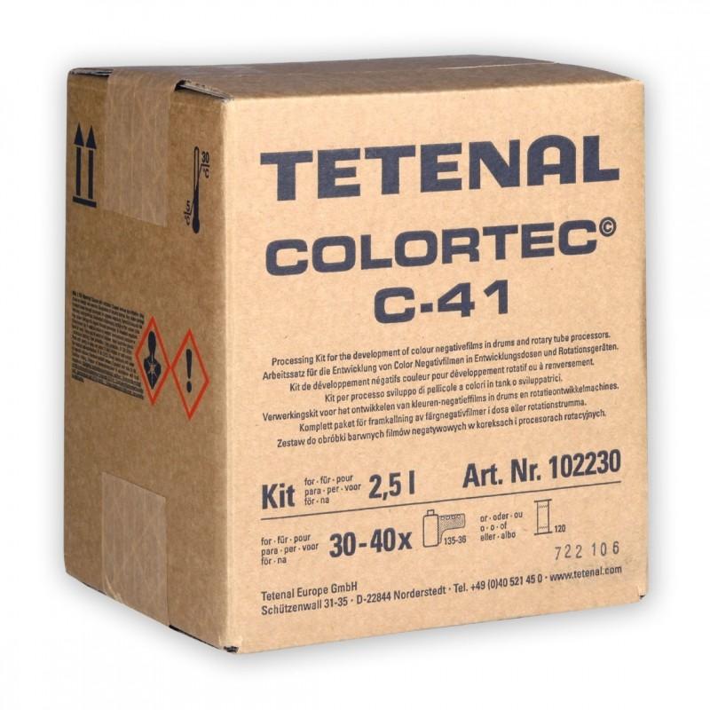 TETENAL COLORTEC C-41 Confezione per fare 2,5 Litri