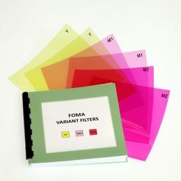 FOMA - Set filtri da stampa 9x9 cm