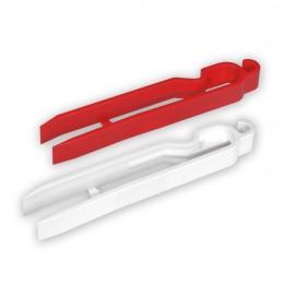 A-P - Pinze per carta in plastica - blister 2 pezzi