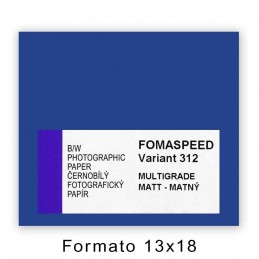 FOMASPEED VARIANT 312 12,7x17,8/100 Satinata