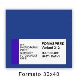 FOMASPEED VARIANT 312 30,5x40,6/10 Satinata