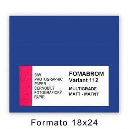 FOMABROM VARIANT 112 18x24/50 Opaca