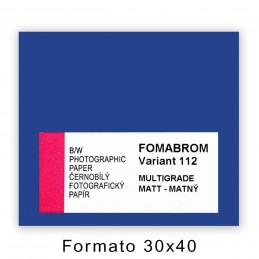 FOMABROM VARIANT 112 30x40/50 Opaca