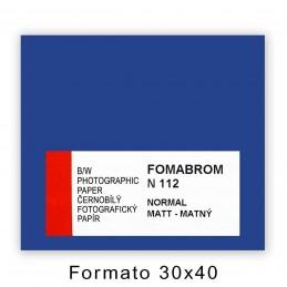 FOMABROM 112 N 30,5x40,6/10 Opaca