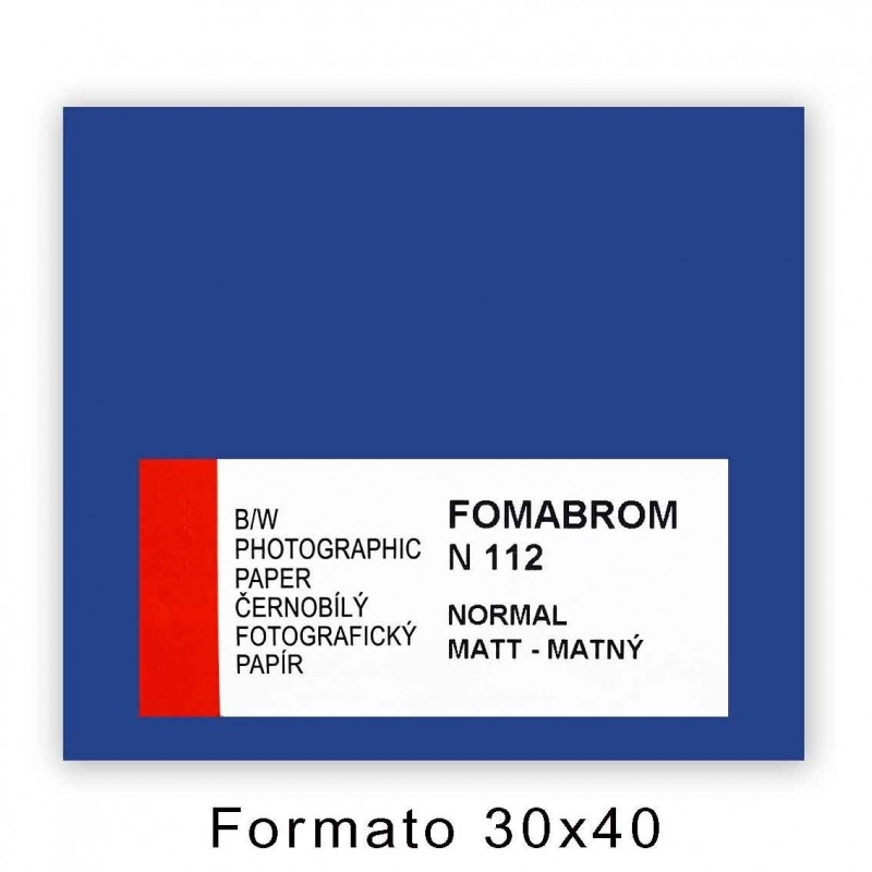 FOMABROM 112 N 30x40/10 Opaca