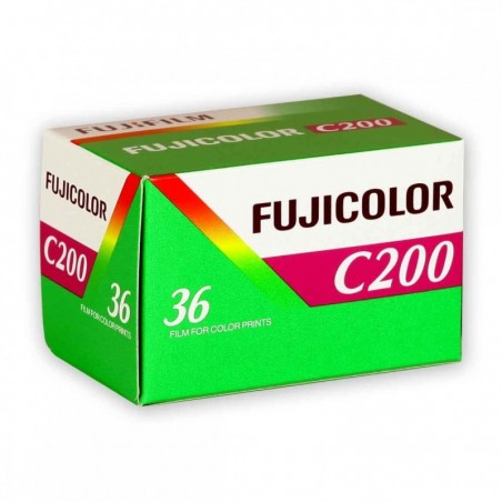 FUJICOLOR C 200: rullo 135 da 36 pose